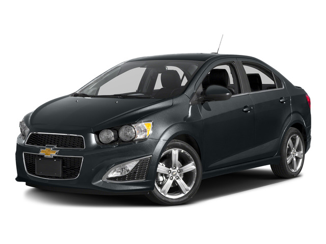 2016 chevrolet sonic 4dr Sdn Manual RS