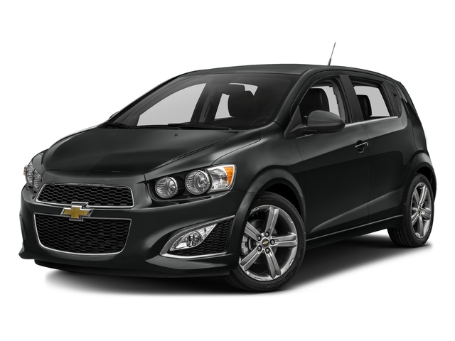 2016 chevrolet sonic 5dr HB Manual RS