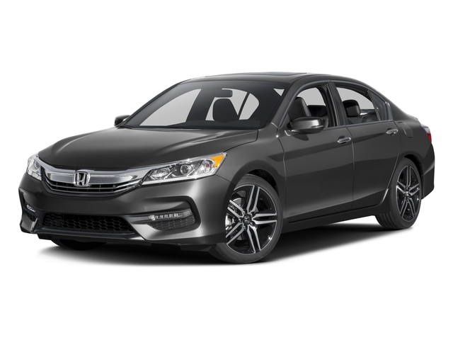 2016 honda accord sedan 4dr I4 Man Sport