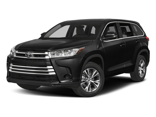 2017 toyota highlander LE Plus V6 FWD (Natl)