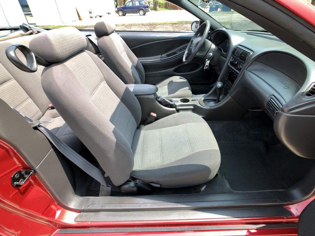 2002 Mustang V6 >> 2002 Ford Mustang V6 Laser Red 3 8l V6 Ohv Hometown