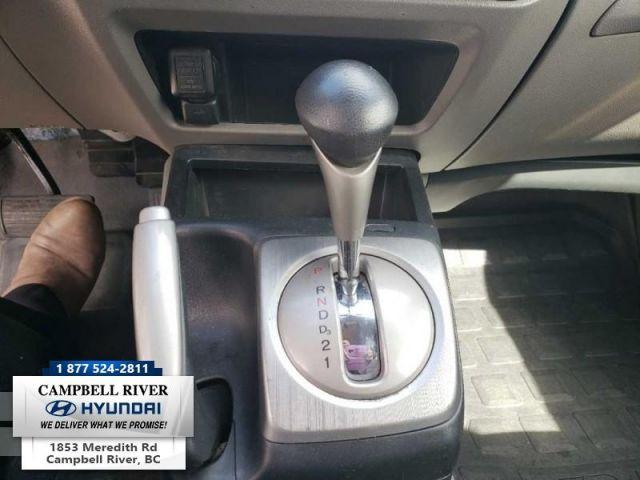 2007 Honda Civic Sedan CIVIC LX  back up camera
