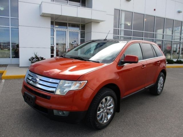 Ford Edge Limited Awd Panoramic Roof Bluetooth Leather