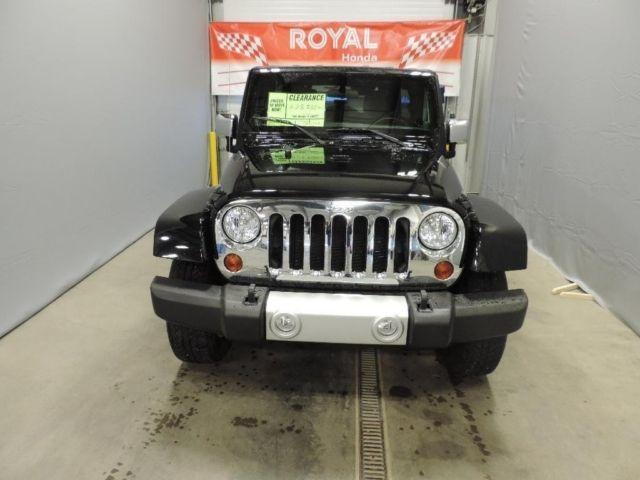 2011 Jeep Wrangler Unlimited 4WD Sahara