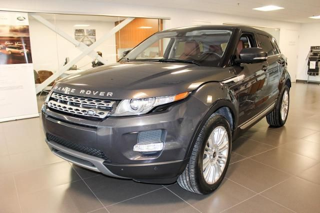 Certified Pre Owned 2013 Land Rover Range Rover Evoque Details