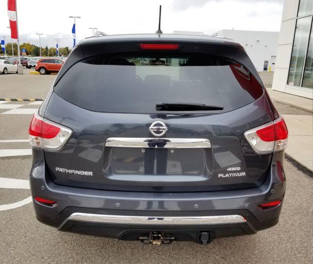 2013 Nissan Pathfinder Platinum 4wd Dark Slate 35l V6 Cylinder