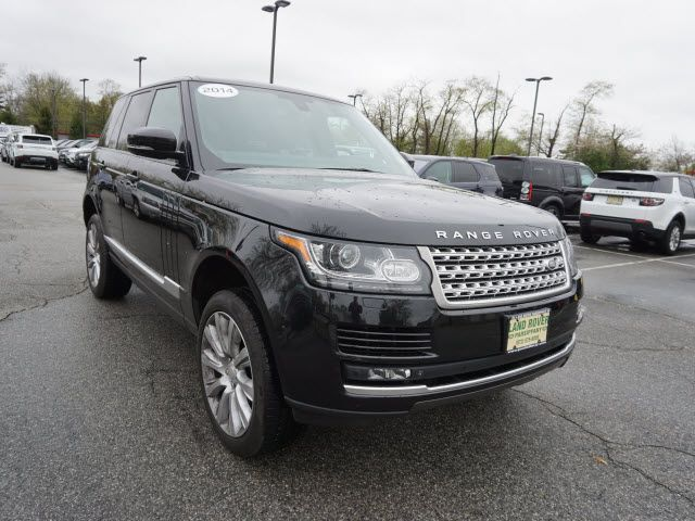 Certified Pre-Owned 2014 Range Rover Details