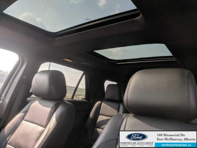 2015 Ford Explorer Limited|3.5L|Rem Start|Nav|Dual Panel Moonroof|2nd Row Console|T