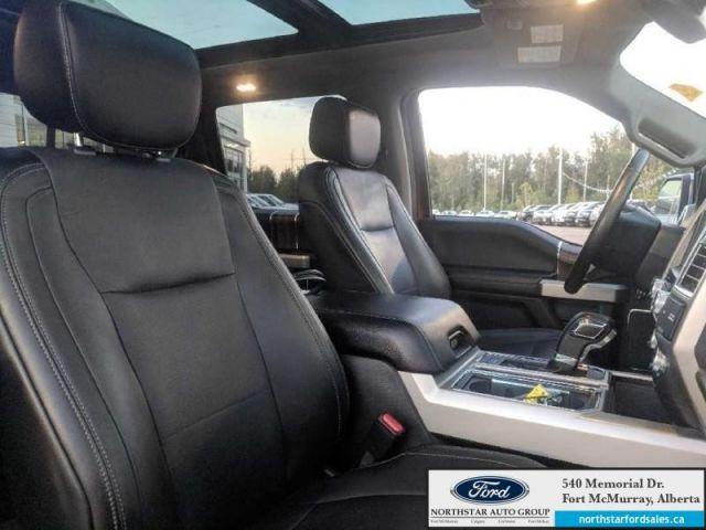 2015 Ford F-150 Lariat 3.5L Rem Start Nav Sport Pkg Twin Panel Moonroof FX4 Offr