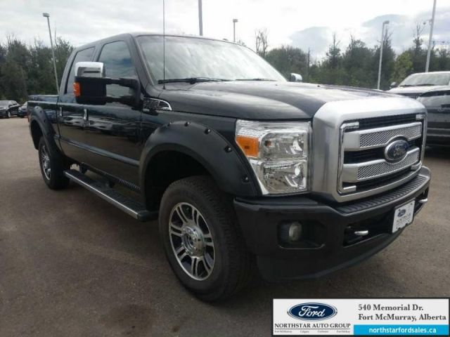 2015 Ford F-350 Super Duty Platinum|6.2L|Rem Start|Nav|Moonroof|FX4 Offroad Pkg