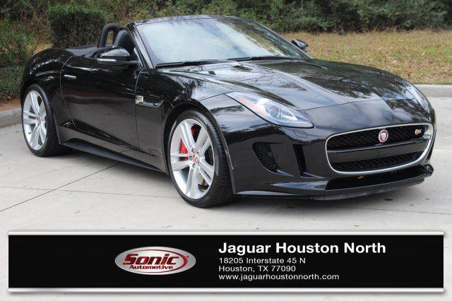 Certified Jaguar FTYPE For Sale In Houston TX Jaguar USA - 2015 jaguar f type v8 s