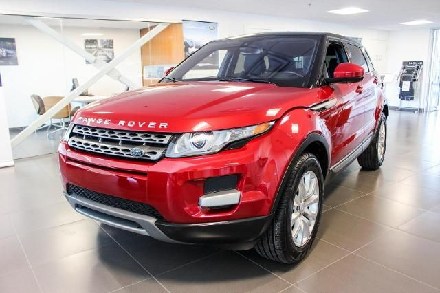 certified pre owned 2015 land rover range rover evoque details. Black Bedroom Furniture Sets. Home Design Ideas