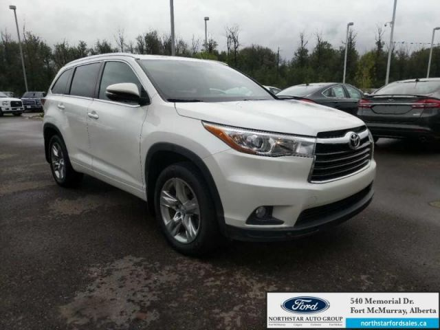 2015 Toyota Highlander Limited|3.5L|Nav|Moonroof|DVD Headrests