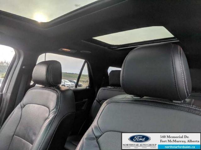 2016 Ford Explorer Limited|3.5L|Rem Start|Nav|Dual Panel Moonroof|Adapt Cruise|Mass