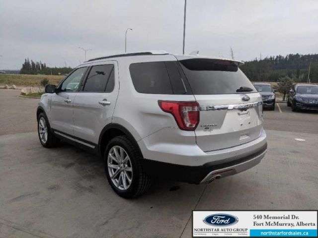 2016 Ford Explorer Limited|3.5L|Rem Start|Nav|Dual Panel Moonroof|Adapt Cruise|Mass