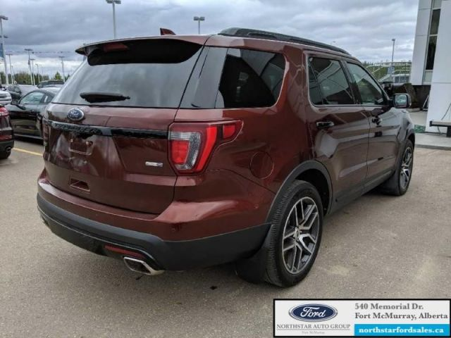 2016 Ford Explorer Sport  |3.5L|Rem Start|Nav|Dual Panel Moonroof