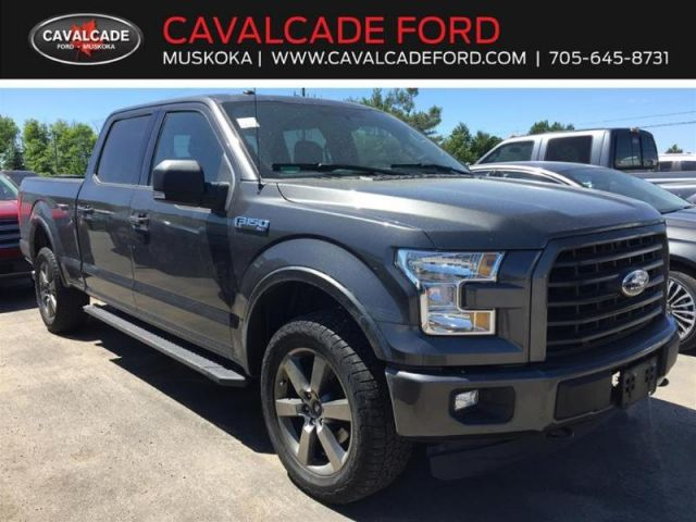 2016 Ford F-150 4X4-SUPERCREW XLT-157 WB