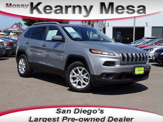 Jeep Dealership San Diego >> 2016 Jeep Cherokee For Sale In San Diego San Diego Area Dealership