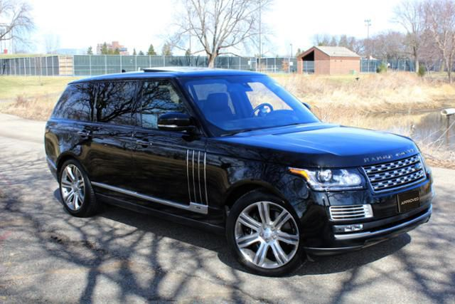 Certified Pre Owned 2016 Range Rover Details