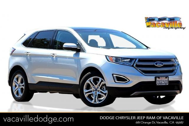 Attractive New 2017 Ford Edge Titanium Near Vacaville | Dodge Chrysler Jeep Of  Vacaville