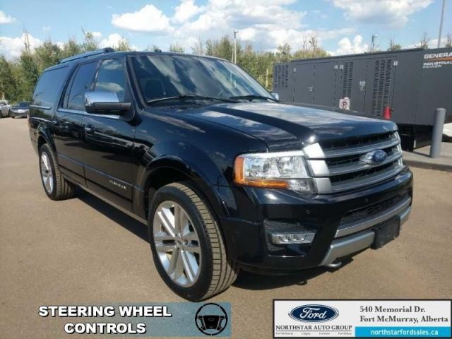 Ford Expedition Max Platinum Max Lrem Startnavmoonroofnd Row Capt Chairs Shadow Black North Star Ford Sales Limited