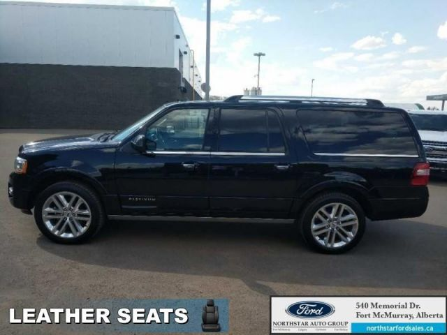 2017 Ford Expedition Max Platinum Max|3.5L|Rem Start|Nav|Moonroof|2nd Row Capt Chairs