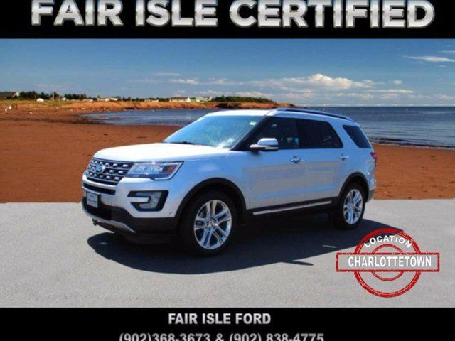 2017 Ford Explorer Limited Used, 18821 km, Charlottetown | Fair ...