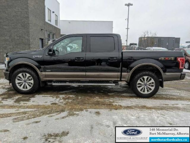 2017 Ford F-150 Lariat  |3.5L|Rem Start|Nav|Lower Two-Tone Paint