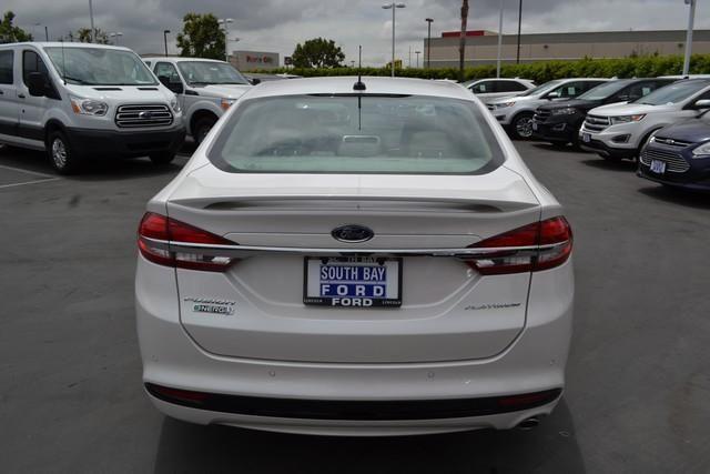 2017 Ford Fusion Energi Titanium Sedan
