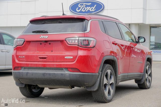 2017 Jeep Compass 4WD 4dr North