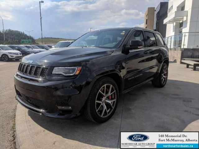2017 Jeep Grand Cherokee SRT|6.4L SRT HEMI|Rem Start|Nav|Dual Panoramic Sunroof|Audio Pkg