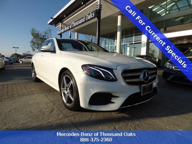 Delightful 2017 Mercedes Benz E Class For Sale In Thousand Oaks   Thousand Oaks Area  Dealership
