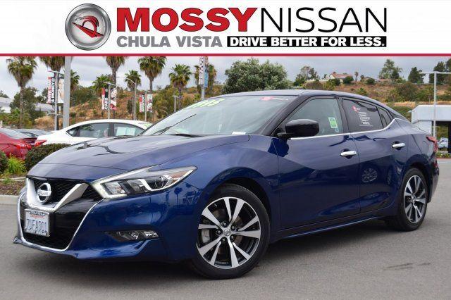 Nissan Chula Vista >> 2017 Nissan Maxima For Sale In San Diego San Diego Area Dealership