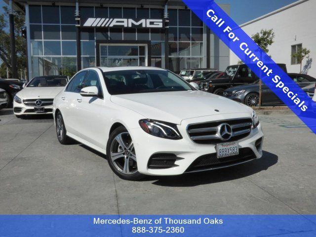 2018 Mercedes Benz E Class For Sale In Thousand Oaks   Thousand Oaks Area  Dealership