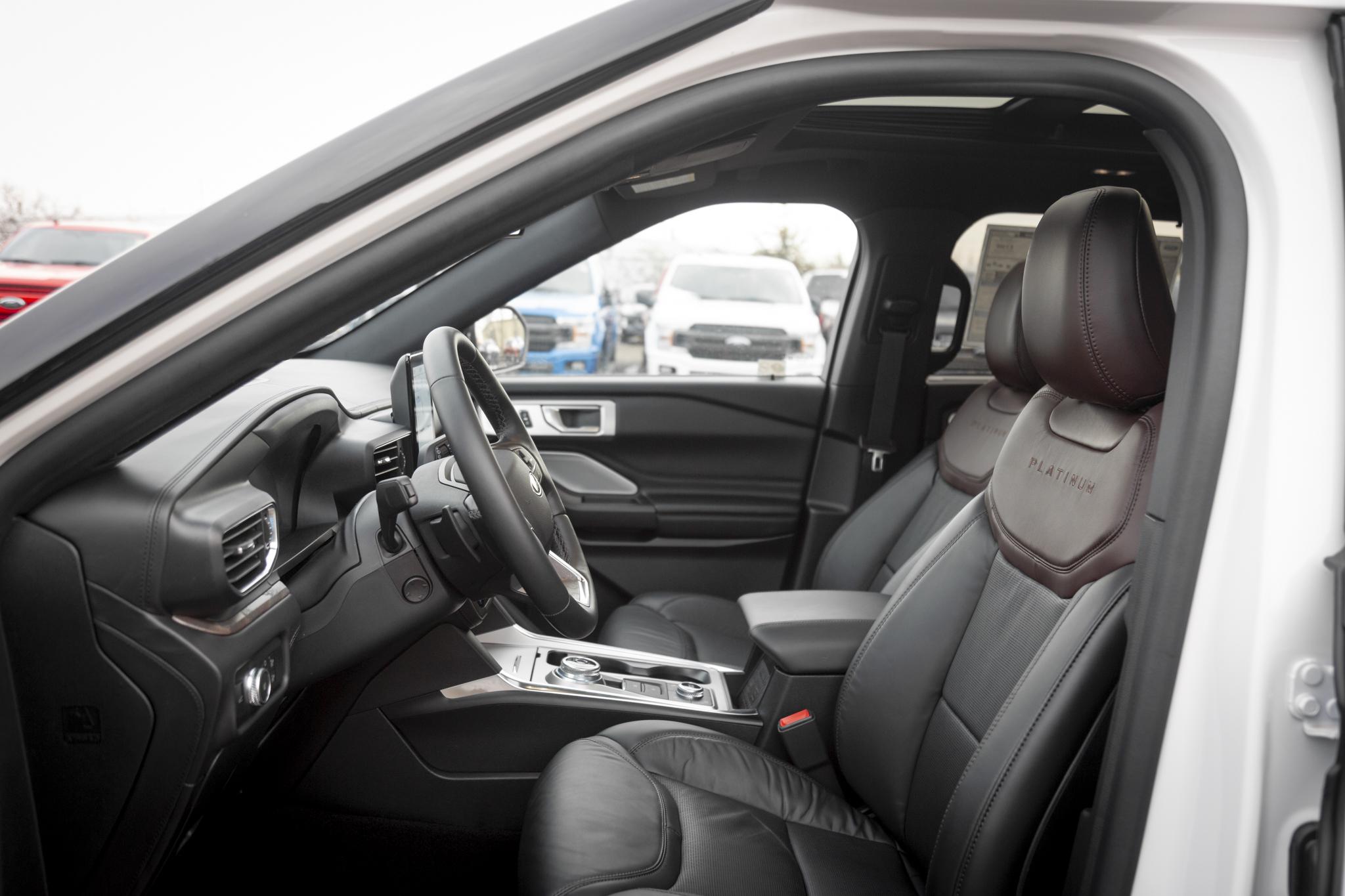 2020 Ford Explorer Platinum Star White 3 0l Ecoboost V6