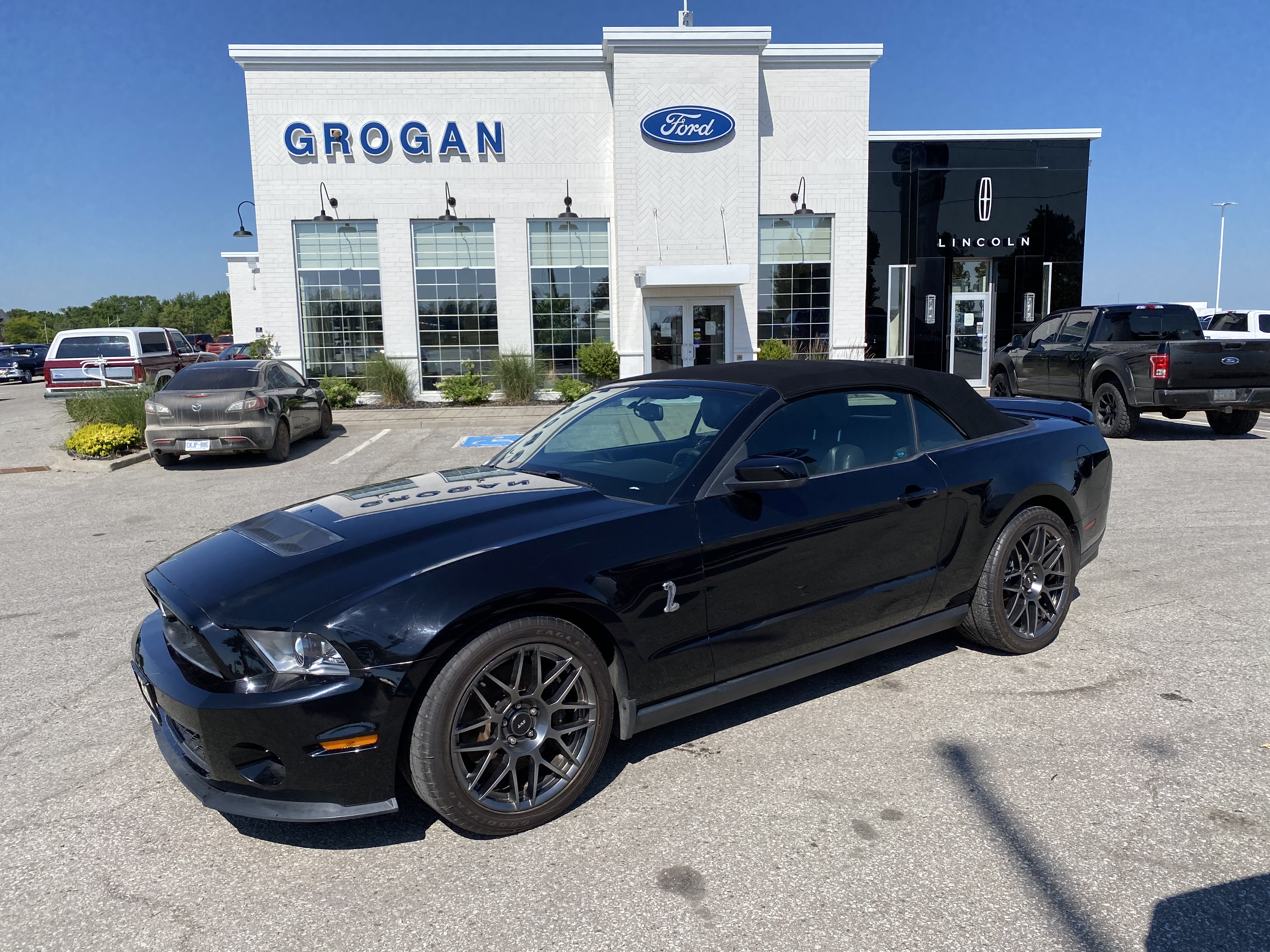 2011 Ford Mustang Shelby Gt500 Black 5 4l V8 32v Mpfi Dohc Supercharged Grogan Ford Lincoln
