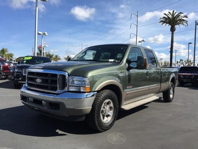 2004 Ford Super Duty F-350 SRW Crew Cab 172 King Ranch