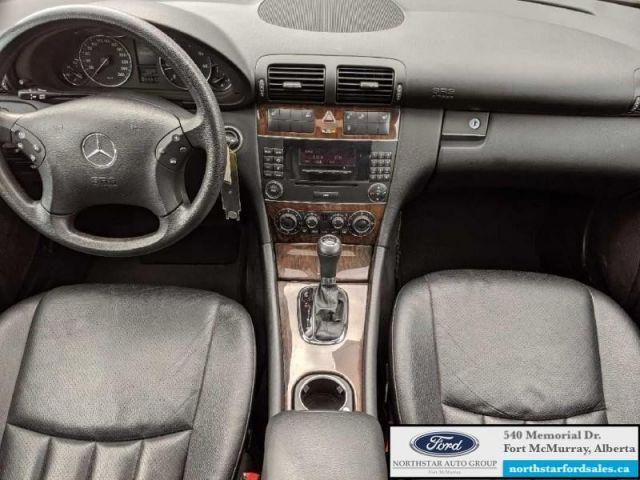 2005 Mercedes Benz C-Class Kompressor   1.8L 4 Door Sedan