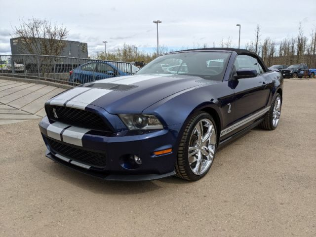 2010 Ford Mustang Shelby GT500  |ALBERTA'S #1 PREMIUM PRE-OWNED SELECTION