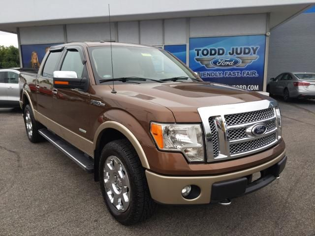 2012 Ford F-150 4WD SuperCrew 145 Lariat