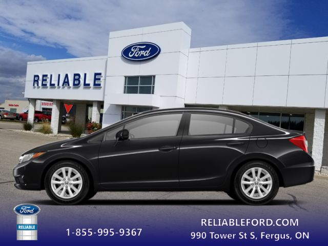 2012 Honda Civic Sedan EX  - $79.48 B/W