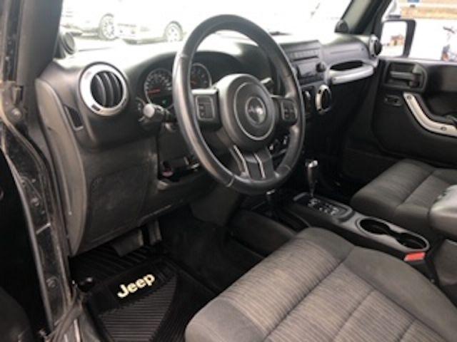 2012 Jeep Wrangler Unlimited SAHARA  - $208 B/W