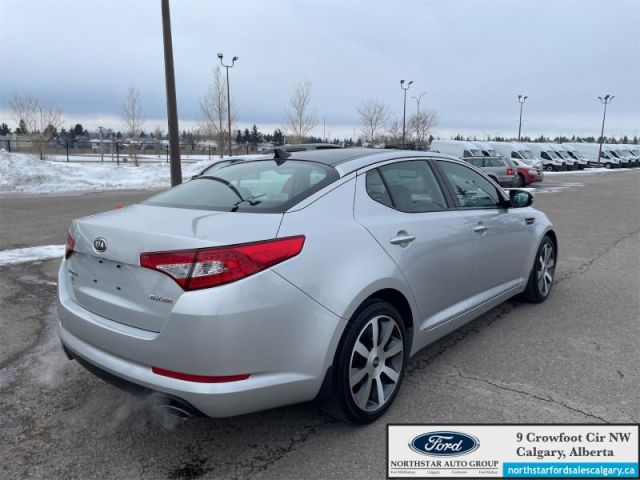 2012 Kia Optima EX+  |LUXUARY| LEATHER| NAV| SUNROOF| EX| - $128 B/W