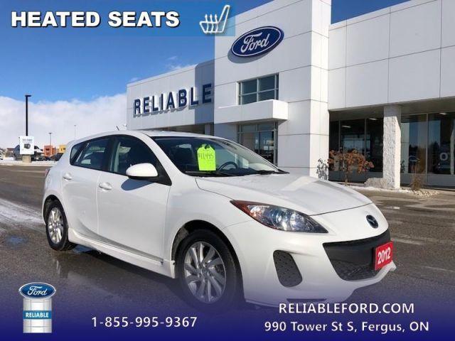2012 Mazda Mazda3 GS-SKY  - Heated Seats -  Bluetooth - $87.06 B/W