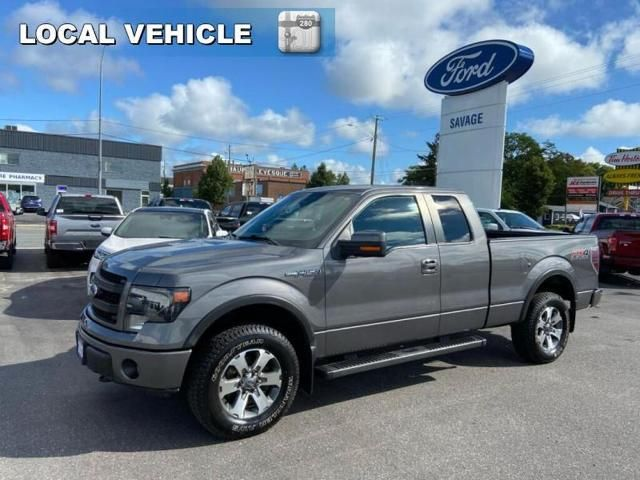 2013 Ford F-150 FX4-ONE OWNER-TRADE-IN-LOCAL-244 B/W