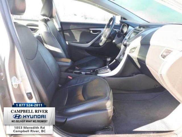2013 Hyundai Elantra LIMITED  -  Cruise Control