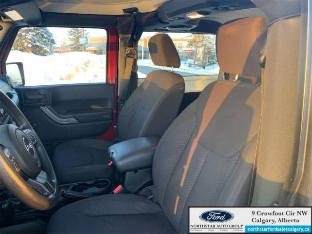 2013 Jeep Wrangler Sport  |MANUAL| 2 DOOR| CLOTH| 4WD|LOW KMS|