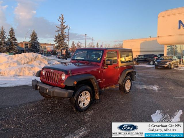 2013 Jeep Wrangler Sport   MANUAL  2 DOOR  CLOTH  4WD LOW KMS 