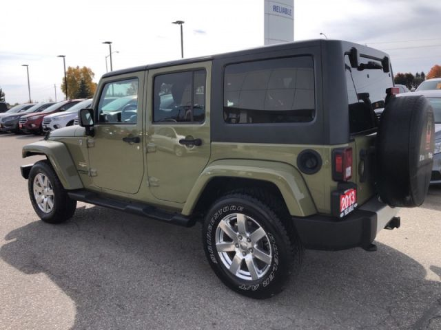 2013 Jeep Wrangler Unlimited SAHARA  Dual Top Group- Remote Start-Heated Seats-Trailer Packag