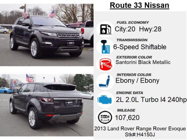 2013 Land Rover Range Rover Evoque Prestige